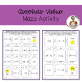 Absolute Value Maze Activity
