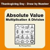 Thanksgiving Math: Absolute Value - Multiplication & Divis