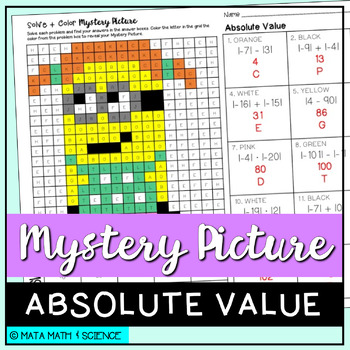 Absolute Value: Mystery Picture (Minion)