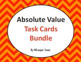 Absolute Value Task Cards Bundle