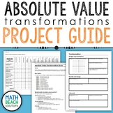 Absolute Value Transformations Book Project Activity Guide