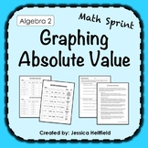 Absolute Value Graphing Activity: Math Sprints