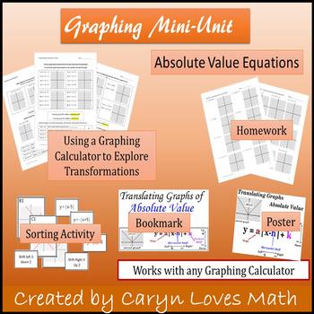 graphing absolute value translation mini-unit~~investigation wksht