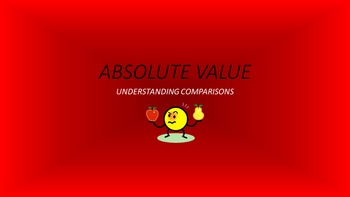Absolute Value: Understanding Comparisons