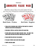 Absolute Value War