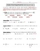 Absolute Value and Integers Review Worksheet
