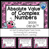 Absolute Value of  Complex Numbers Boom Cards--Digital Task Cards