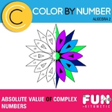 Absolute Value of Complex Numbers Color by Number