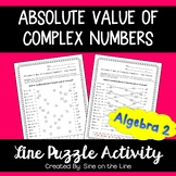 Absolute Value of Complex Numbers: Line Puzzle Activity