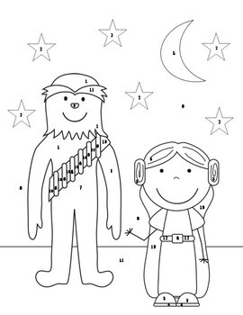 Absolute Value of Expressions Coloring Activity {Fall and Star Wars Inspired}