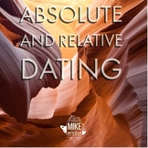 Absolute and Relative Dating Cut, Color and Organize for M