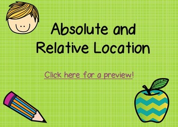 Absolute and Relative Location Boom Cards