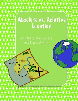 Absolute vs. Relative Location Interactive Journal
