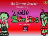 Absolutely Adorably Yucky Zombie Valentines {Freebie}