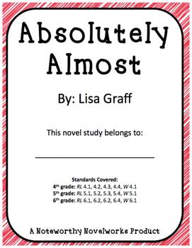 Absolutely Almost Novel Study / Key
