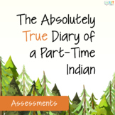 Absolutely True Diary of a Part-Time Indian: Quizzes, Test, Essays, Answer Keys