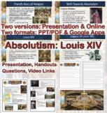 Absolutism: Louis XIV