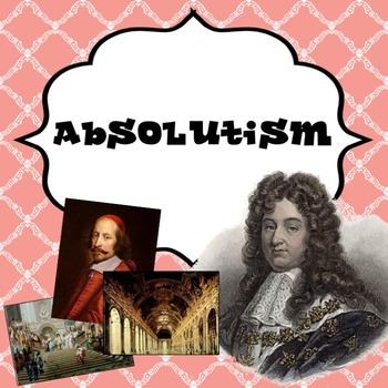 Age of Absolutism in Europe PowerPoint lesson