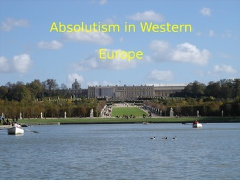 Absolutism and Constitutionalism in Europe