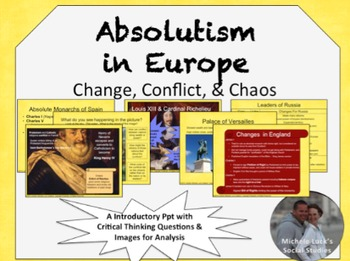 Absolutism in Europe PPt Divine Right of Kings All European Nations