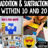 Addition Activity Pack:Activities for Teaching Addition Strategies