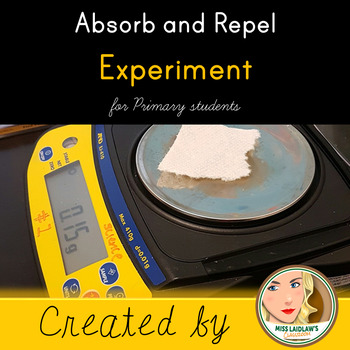 Absorb and Repel Inquiry Experiment for Early Primary Students
