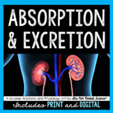 Absorption and Excretion Unit