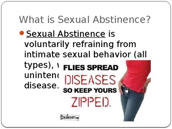 Abstinence and Monogamy Powerpoint