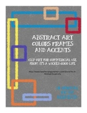 Abstract Art Color Frames and Accents