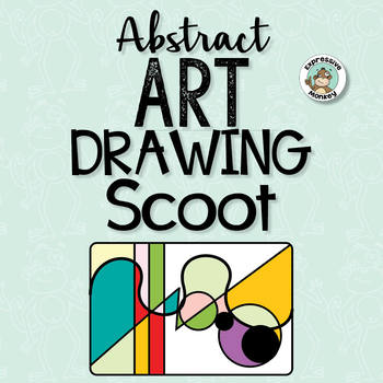 Art Lesson: Abstract Art Drawing Scoot