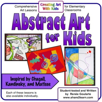 Art Lessons Abstract Art For Kids Inspired by Chagall ...