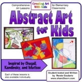 Art Lesson Bundle Abstract Art For Kids Inspired by Chagal
