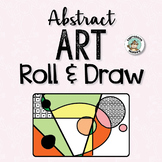 Abstract Art Roll & Draw Pages