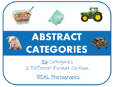 Abstract Categories - Photograph Picture Card Set for Spee