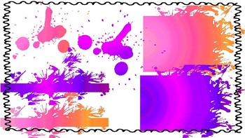 Abstract Clip Art All Uses- Tidal Splats