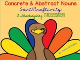 Abstract & Concrete Nouns