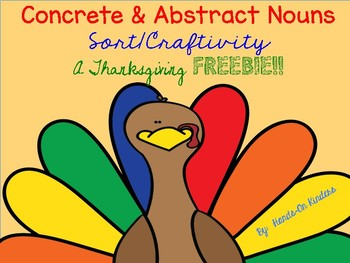 Abstract & Concrete Nouns