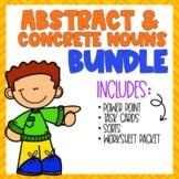 Abstract & Concrete Nouns BUNDLE