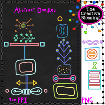 Abstract  Doodle Clip Art