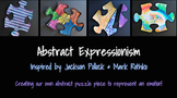 Abstract Expressionism Art Lesson