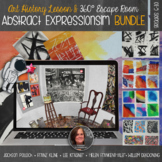 Abstract Expressionism & 360° Escape Room Decoding Jackson
