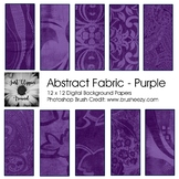 Abstract Fabric Backgrounds - Purple