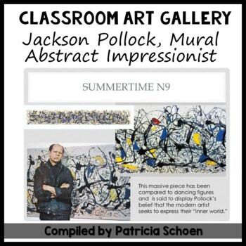 Abstract Impressionist Jackson Pollock