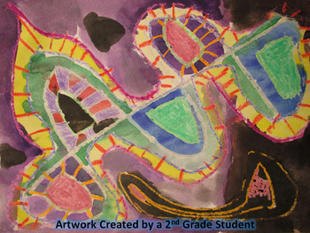 Abstract Kandinsky Painting