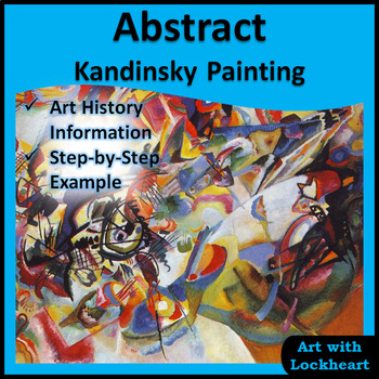 Abstract Kandinsky Painting
