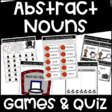 Abstract Noun Games and Quiz