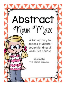 Abstract Noun Maze