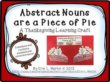 Abstract Noun Thanksgiving Bundle