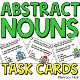 Abstract Nouns Task Cards for Third Graders L.3.1.c
