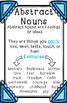 Abstract Nouns Anchor Chart